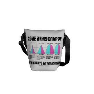 Love Demography It's Always In Transition Courier Bag