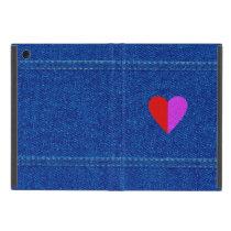 Love Denim iPad Mini Powis Cover