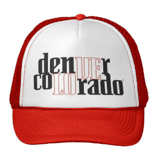 Love Denver Colorado Trucker Hat