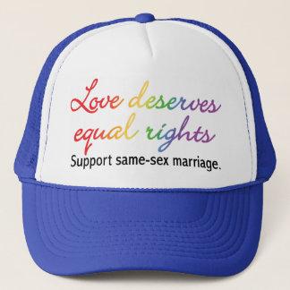 Love Deserves Equal Rights Trucker Hat