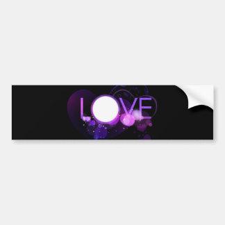 Love Design  Bumper Sticker Car Bumper Sticker