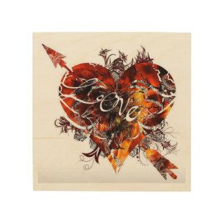 Love Design By Nathan Robert Simonson Wood Wall Art