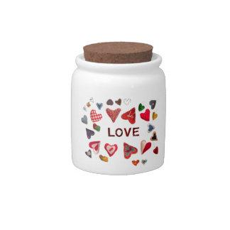 love design candy jar