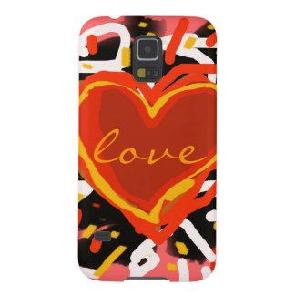 love design, graphic art case for galaxy s5