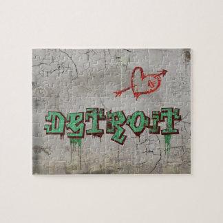Love Detroit Jigsaw Puzzle