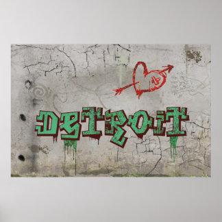 Love Detroit Poster
