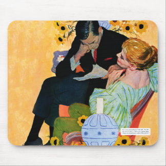 Love Dies Slowly Mouse Pad