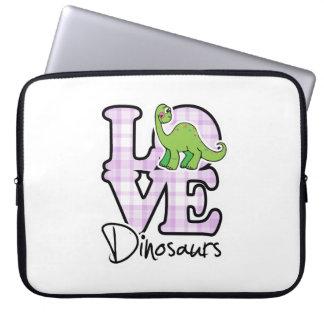 Love Dinosaurs Laptop Sleeves