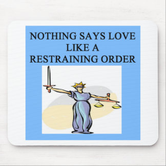 love divorce joke mouse pads