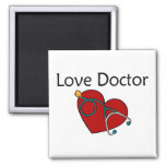 Love Doctor 2 Inch Square Magnet