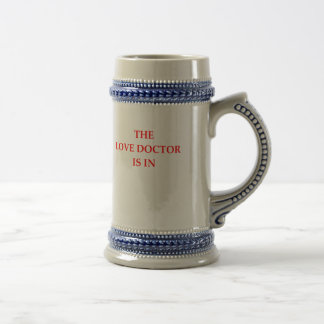 LOVE DOCTOR BEER STEIN