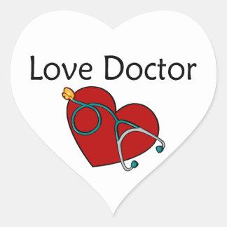 Love Doctor Heart Sticker