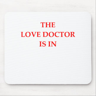 LOVE DOCTOR MOUSE PAD