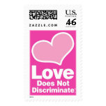 Love Does Not Discriminate - Big Heart! Postage Stamps