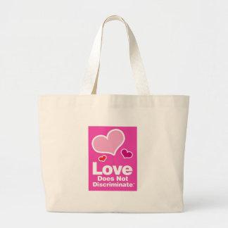 Love Does Not Discriminate Classic Tote Jumbo Tote Bag