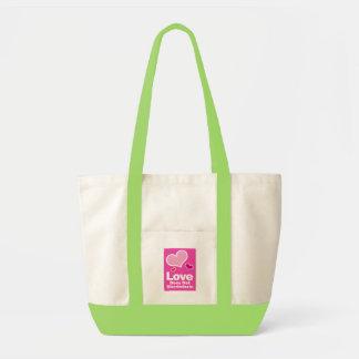 Love Does Not Discriminate Impulse Tote Impulse Tote Bag
