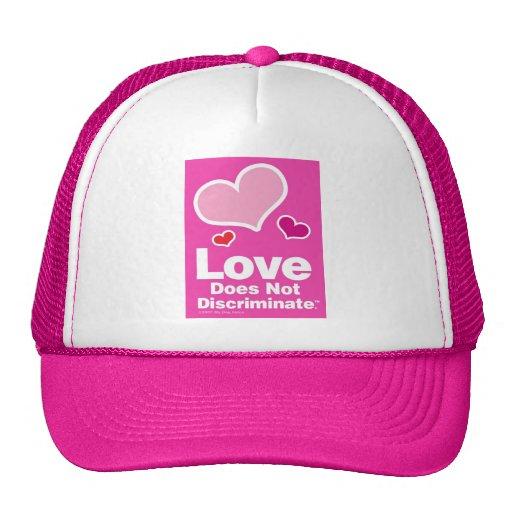Love Does Not Discriminate - Pink Trucker Hat