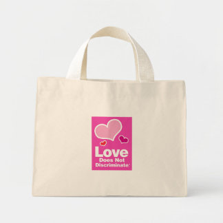 Love Does Not Discriminate Striped Tote