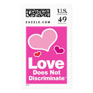 Love Does Not Discriminate - Three Hearts! Postage