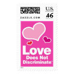 Love Does Not Discriminate - Three Hearts! Stamp