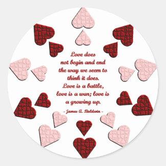 Love Does... Sticker