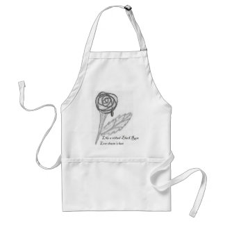 Love Doesn't Last Adult Apron