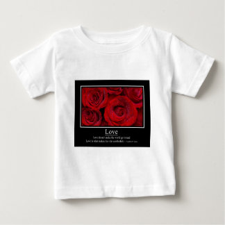 Love Doesn't Make the World Go 'Round Poster Baby T-Shirt