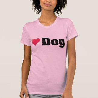 Love Dog Black T-Shirt