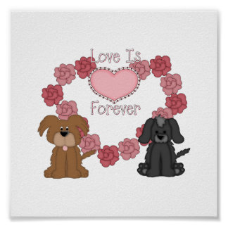 Love Dogs Forever Poster