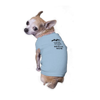 Love Dogs So Rescue Now Tee