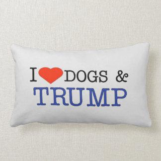 Love Dogs Trump Lumbar Pillow
