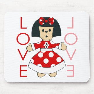 Love Doll Mouse Pad