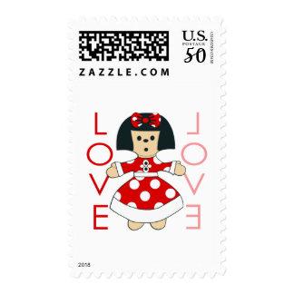 Love Doll Postage