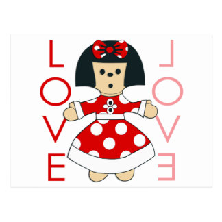 Love Doll Postcard