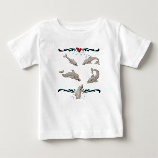 Love Dolphins Baby T-Shirt