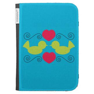 Love Doves Caseable Case Kindle Keyboard Cases