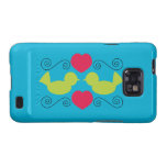Love Doves Galaxy SII Covers
