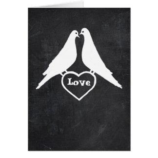 Love Doves Happy Valentine's Day Card