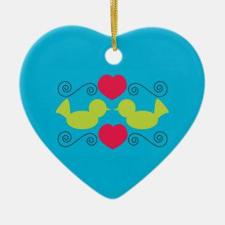 Love Doves Ornament