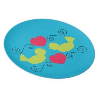 Love Doves Plate
