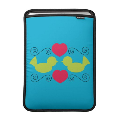 Love Doves Rickshaw Sleeve Sleeve For iPads