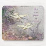 Love - Doves - Romantic - Forever Bond - Wedding Mousepad