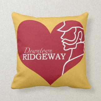 Love Downtown Ridgeway Pillow