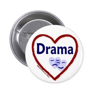 Love Drama Pinback Button