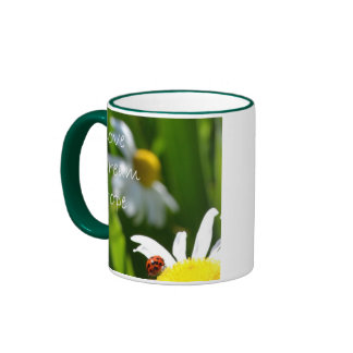 Love, Dream, Hope Ringer Coffee Mug