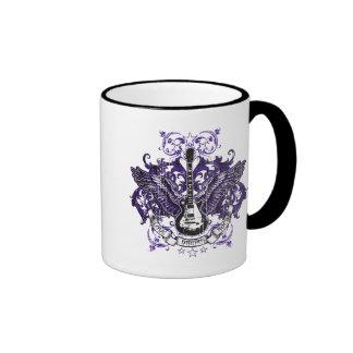 Love, Dream, Rock Ringer Coffee Mug