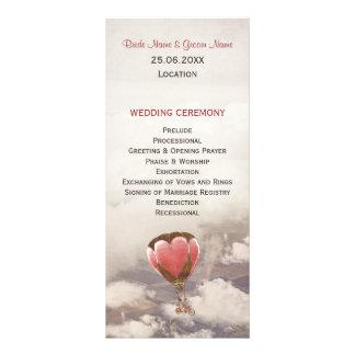 Love Dream Wedding Program