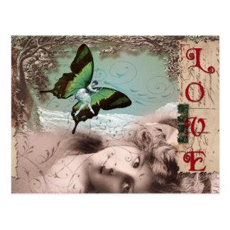 love dreams copy post card