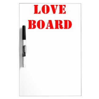 LOVE DRY ERASE BOARD