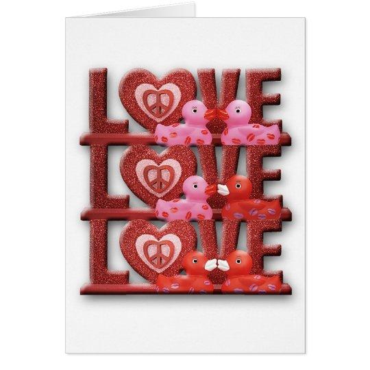 Love Duckies (Blank) Card